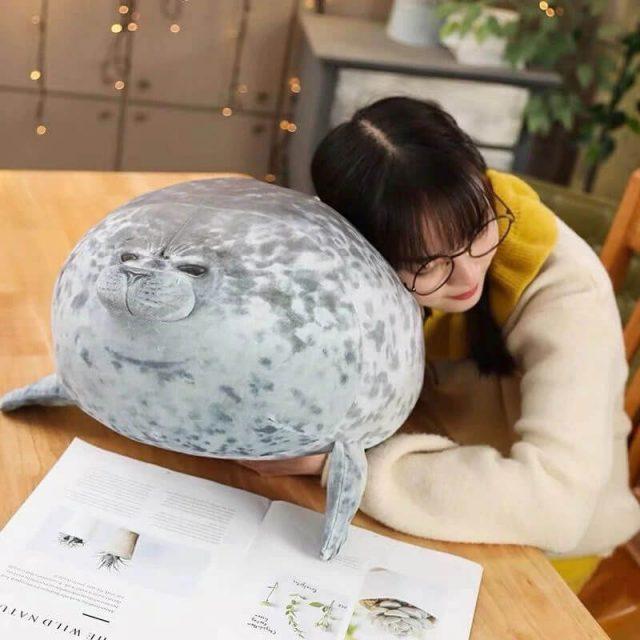 Fat Seal Pillow