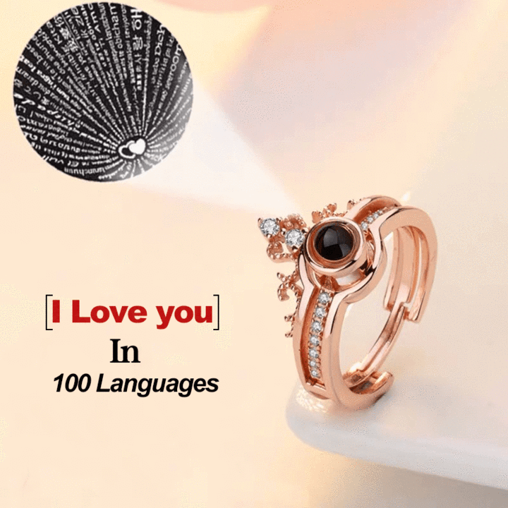 100 Languages I Love You Ring