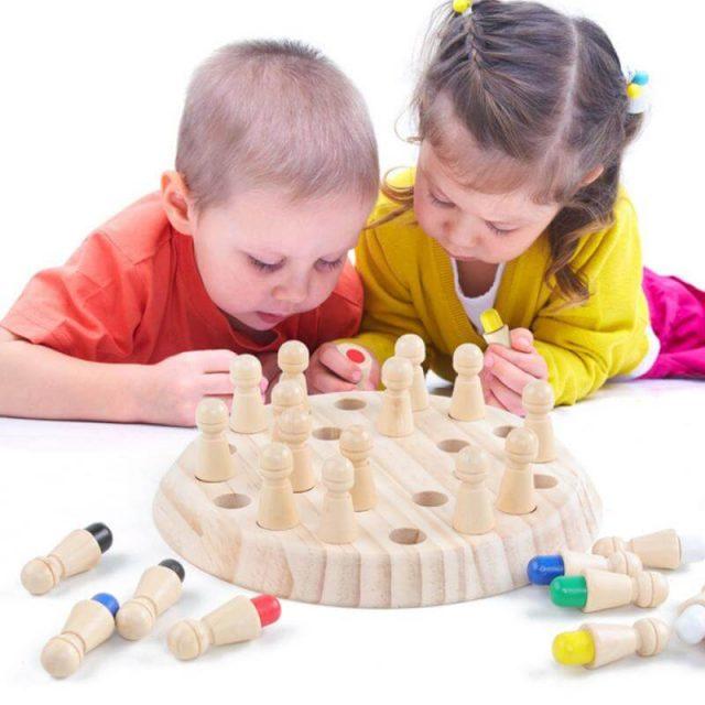 Memory Match Stick Chess Game