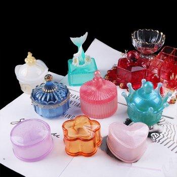 Handmade Crystal Glue Mold Set