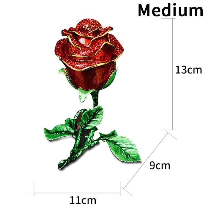 Rose Flower Jewelry Gift Box