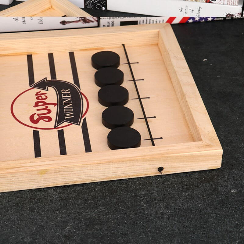 Table Desktop Battle 2 in 1 Ice Hockey Game