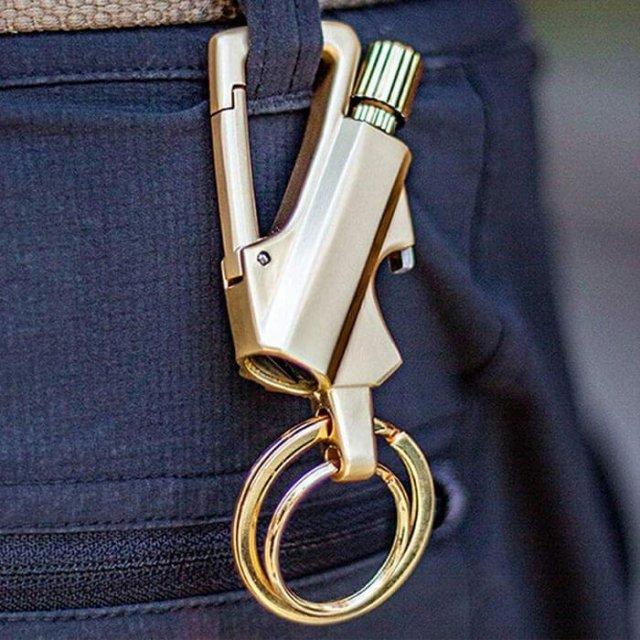 Flint Fire Starter Keychain
