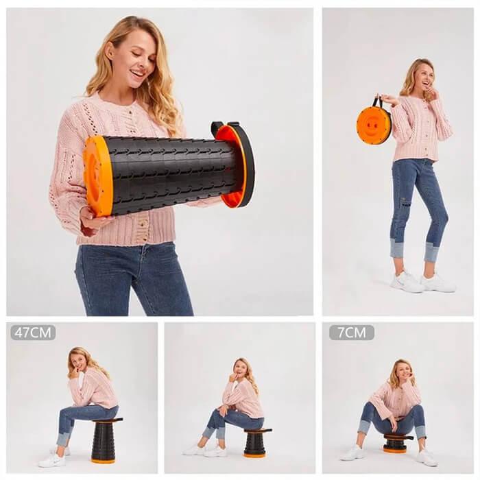 Portable Retractable Stool