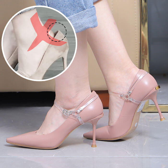 Anti-Sliding Heel Shoe Straps