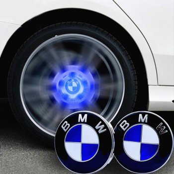 Led Floating Wheel Cap For BMW