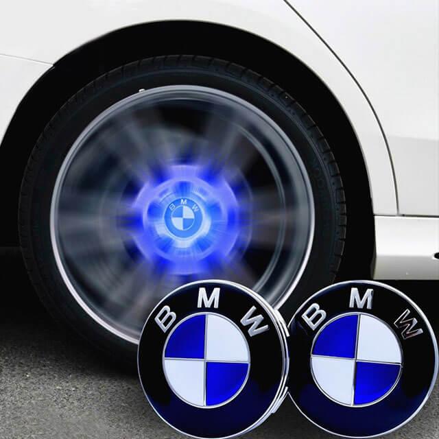 Led Floating Wheel Cap For BMW