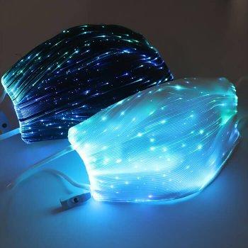 7 Color Lights LED Light up Face Mask