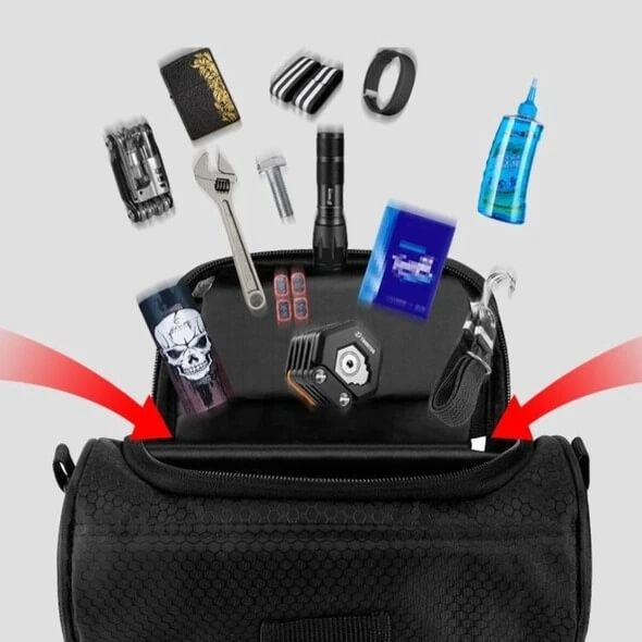 Multifunctional Touch Screen Bike Handlebar Bag