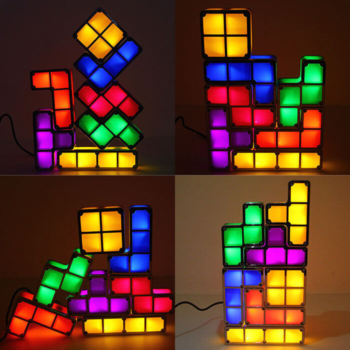 Tetris Stackable Night Light